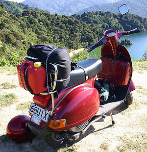 just safe rijschool scooter AM