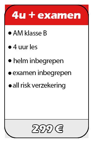 Rijschool Just Safe prijs praktijk examen AM